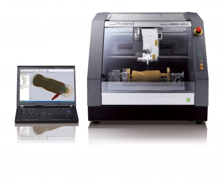 Roland-MDX-40A-with-MecSoft-VisualMill-for-SolidWorks