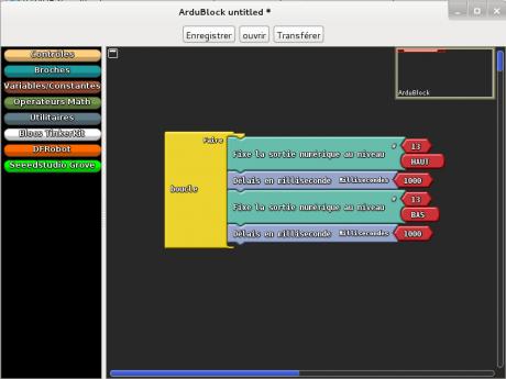 Ardublock interface