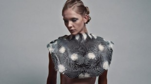 3D-printed interactive wearable reacts to ogling