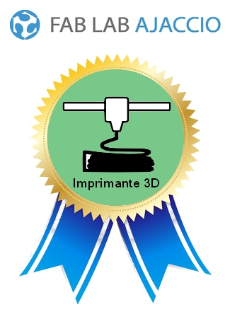 certification impression3D