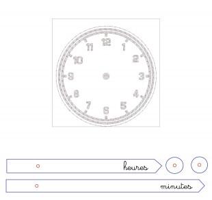 horloge shopbot
